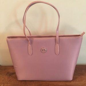 NWOT Joy Mangano Pink TuffTech Handbag